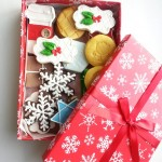 christmas boxed cookie set